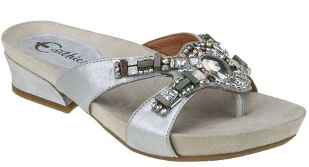 Earthies Lazeretta in Silver from PlanetShoes.com