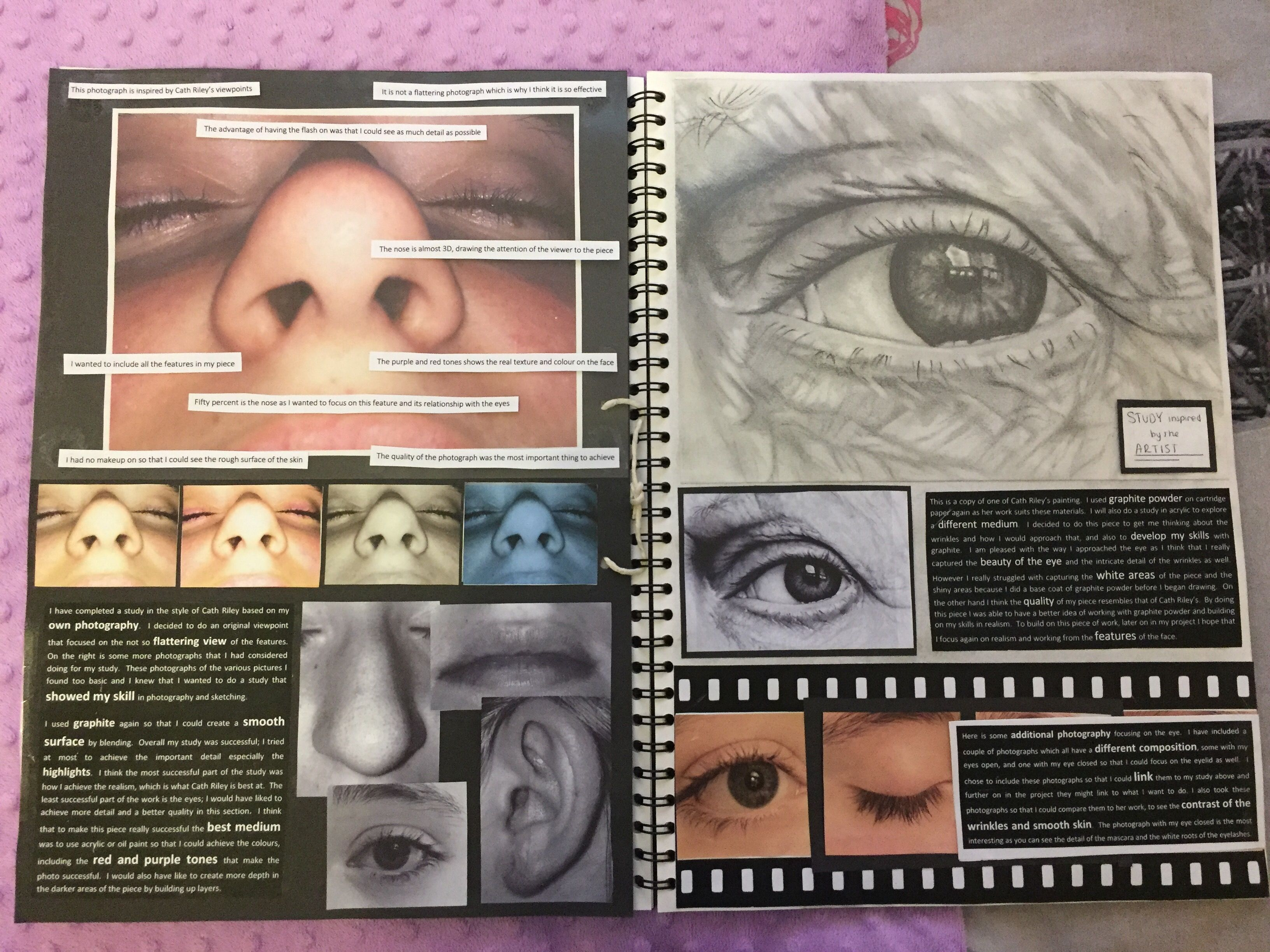 Cath riley my sketchbook exploration part 2
