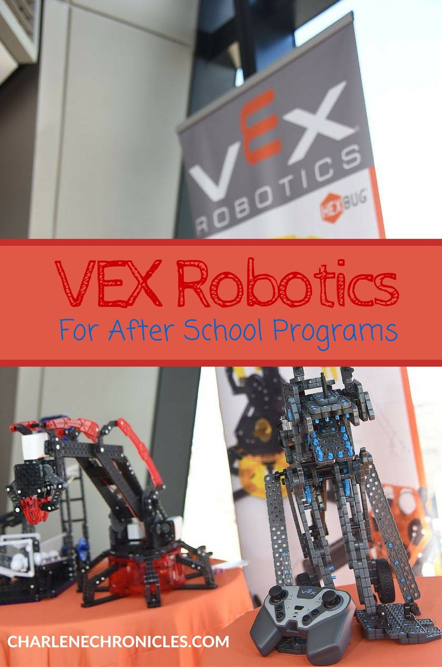 VEX Robotics in After School Programs is part of Vex robotics, Teaching robotics, Educational robots, Robot programming, After school program, School programs - VEX Robotics offers schools and kids the opportunity to develop STEM with competitions, a robust curriculum and at home or at school construction sets