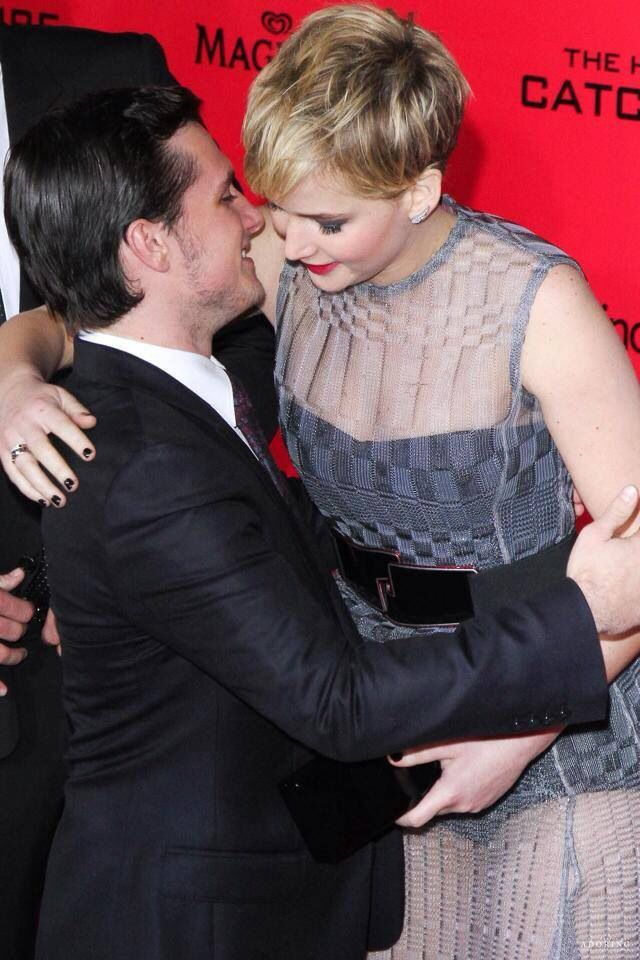 Their hugs ...