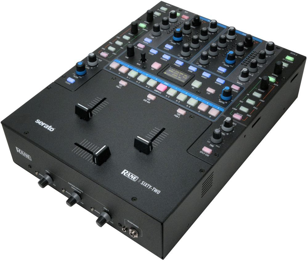 Rane Sixty Two 10 Inch Dj Mixer For Serato Dj Dj Equipment Audio Dj Gear