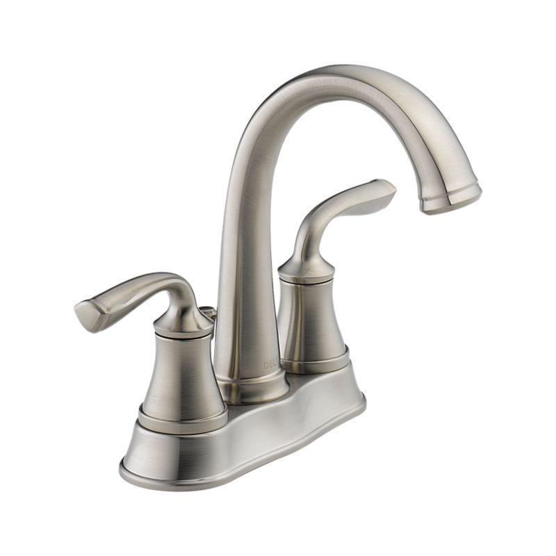 25716LF-SS Lorain Two Handle Centerset Lavatory Faucet : Bath ...