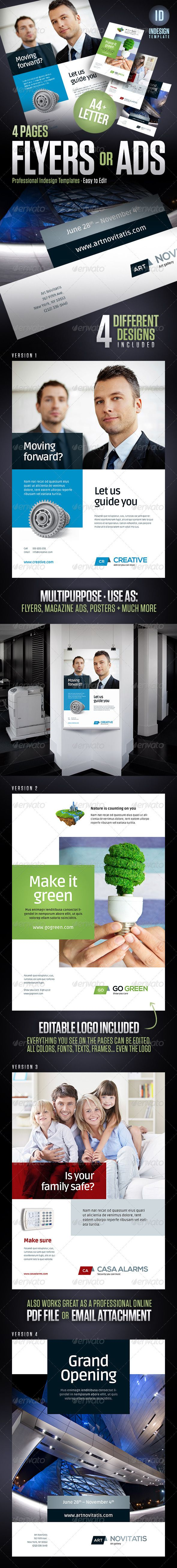 Flyers Magazine Ads Posters Product Sheets Flyer Magazine Ads Flyer Design Templates
