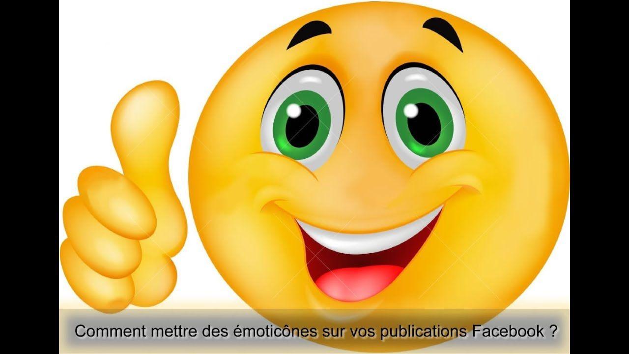 Comment Mettre Des Emoticones Sur Vos Publications Facebook Visage Souriant Heureux Emoticone Gratuit Emoticone