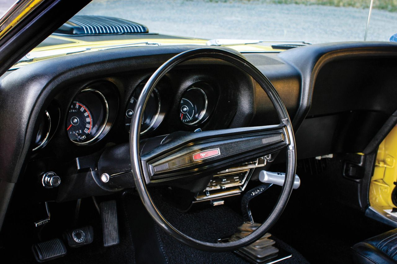 Fordn mustang classic car vintage interior fancy classy oldschool ford mustang behind the wheel pinterest ford mustang ford and car