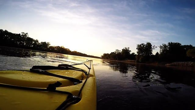 """Dawn Patrol on the James River, Virginia  Music Credit: """"Yellow Eyes"""" by Rayland Baxter"""