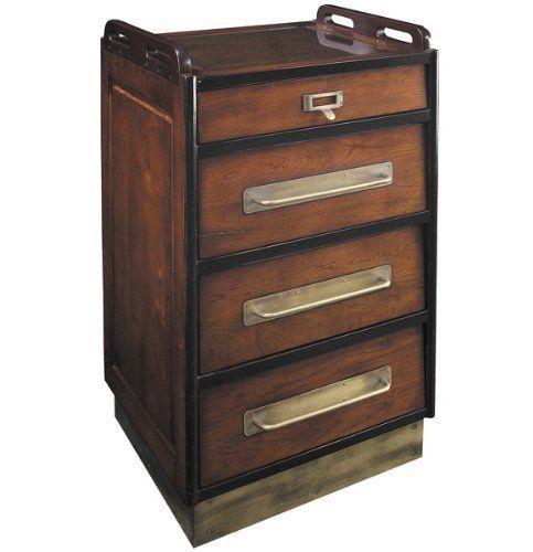 Lovely Antique Wood File Cabinet
