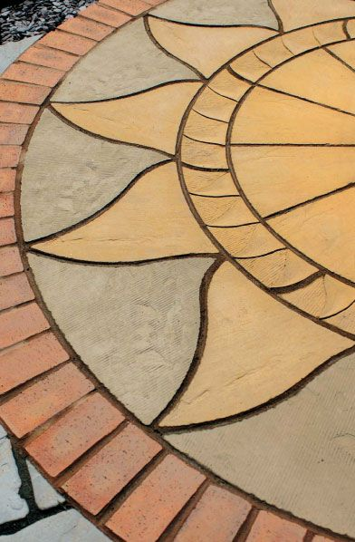 Sun Concrete Patio | Helpful Tips How To Lay A Patio Caring For Your Patio  Efflorescence