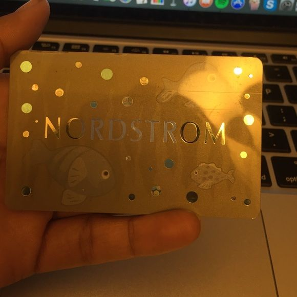 Nordstroms Gift Card (100$) Never used Accessories