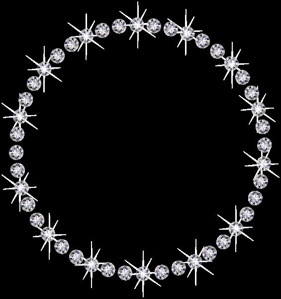 Diamond Round Border Png Transparent Image Diamond Image Free Clip Art Diamond