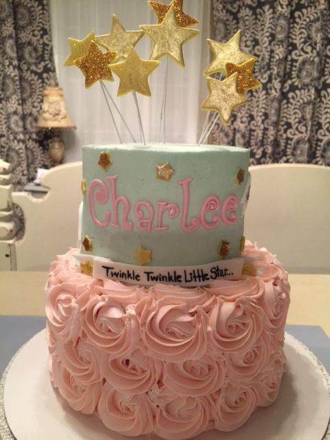 Twinkle Twinkle Little Star Cake Cake Fun Birthday