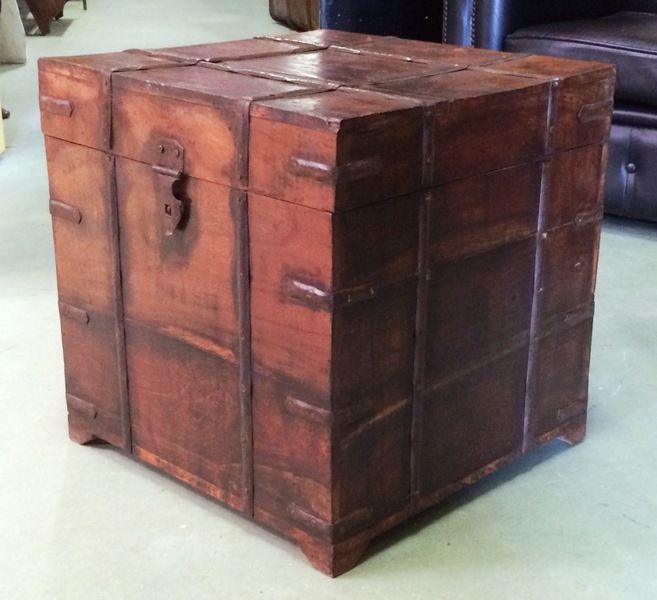 Coffre de la Marine. VENDU. Antiquités Brocante,Meubles anglais - Au Vieux Chaudron