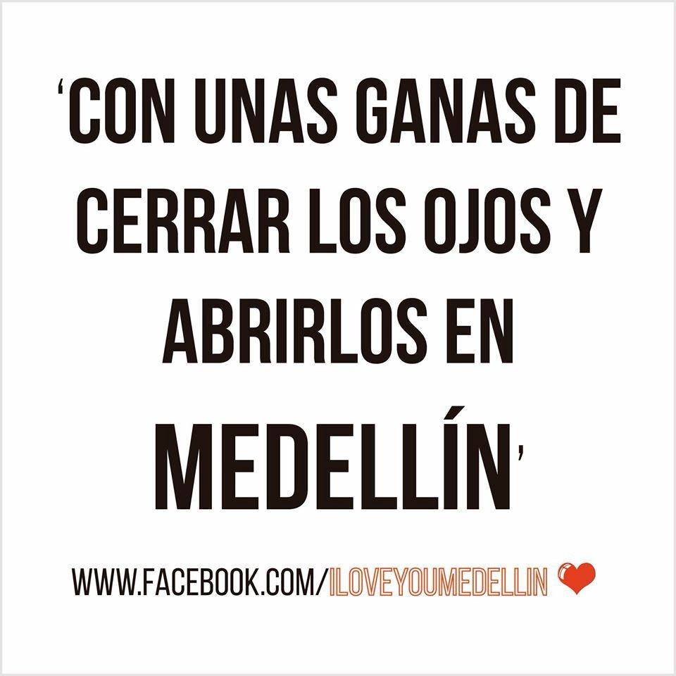 Medellin #tierra #familia