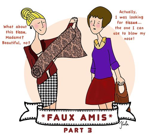 unlocking french language  simple advice for avoiding faux amis - part three