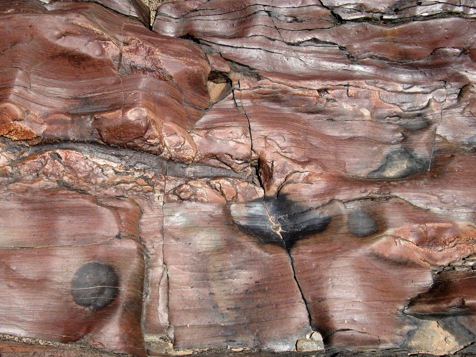 Vishnu Schist In The Inner Canyon Grand Canyon