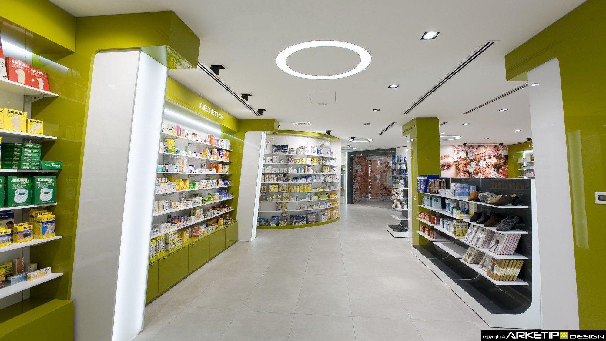 Farmacia verghera samarate va by arketipo design for Milano design shop