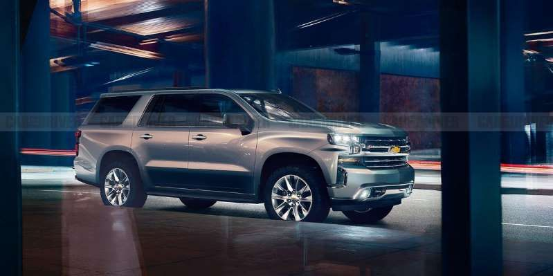 The Next Generation Chevrolet Tahoe Suv Due As A 2021 Model Autos
