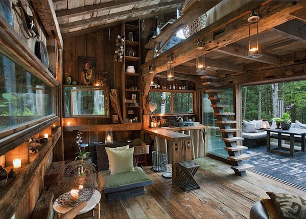 Fashion Stylist Scott Newkirk Goes Unplugged In His 14 Square Foot  Rough Hewn Cabin | 6sqft