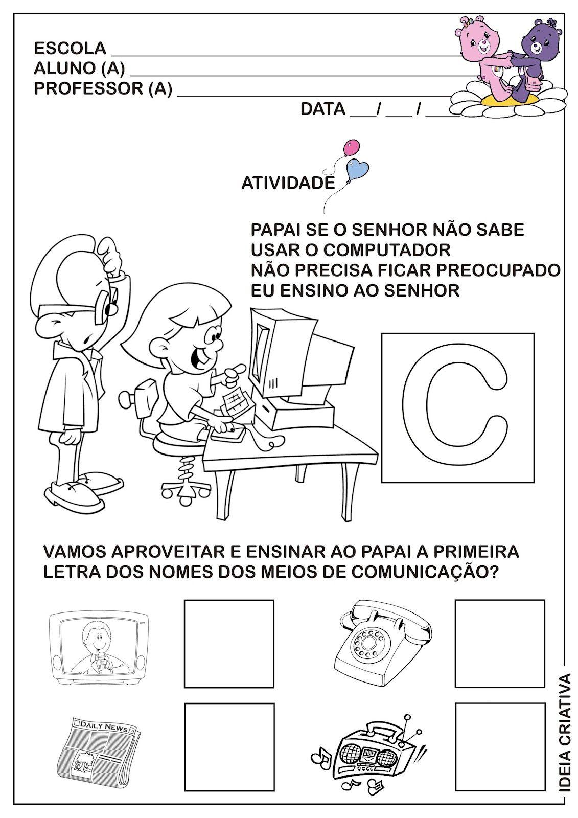 Resultado De Imagem Para Meios De Comunicacao Educacao Infantil