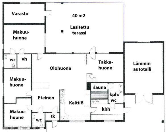 117m² Vaahteratie 6, 18120 Heinola Omakotitalo 5h myynnissä   Oikotie 12909612