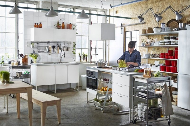 Gallery of best ikea cucina acciaio gallery - Cucina Monoblocco Ikea ...