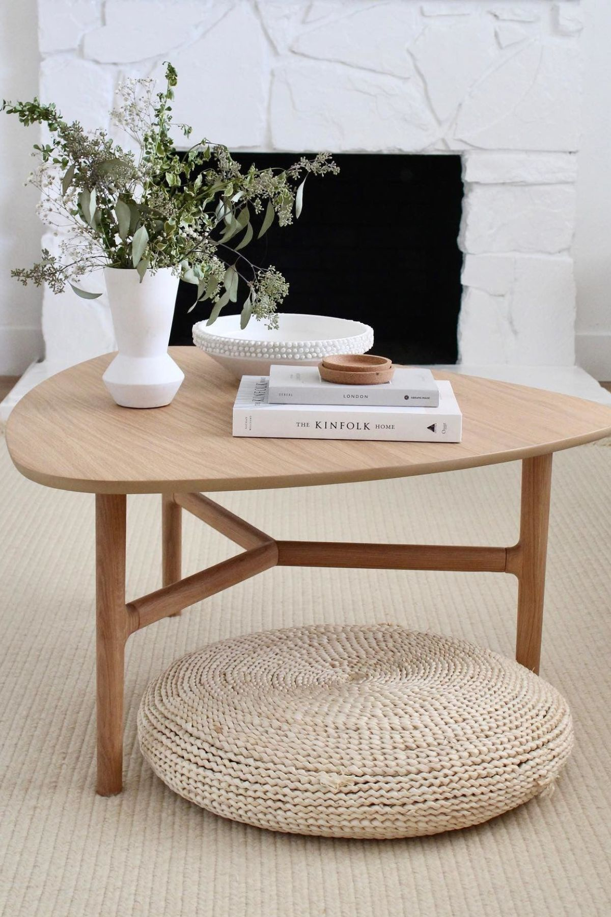 Brezza Light Oak Triangular Coffee Table In 2021 Round Coffee Table Decor Round Coffee Table Modern Scandi Coffee Table [ 1800 x 1200 Pixel ]