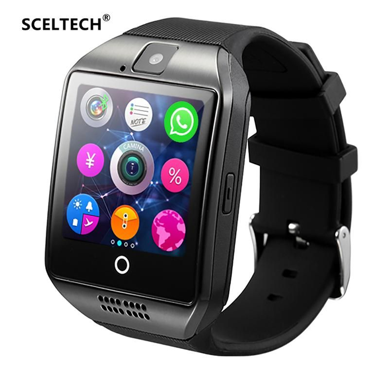 SCELTECH Bluetooth Smart Watch S1 With Camera Facebook