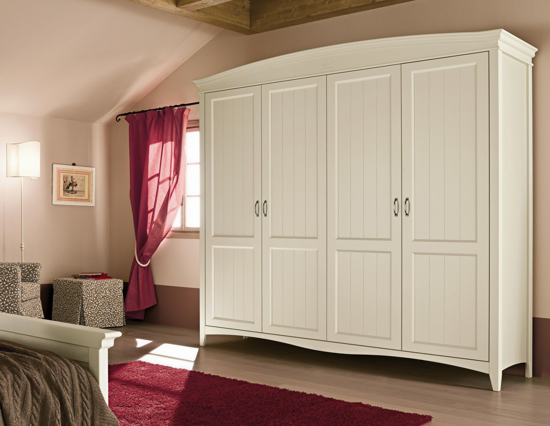 Callesella Camerette ~ Wooden bedroom set romantic composition 09 by callesella