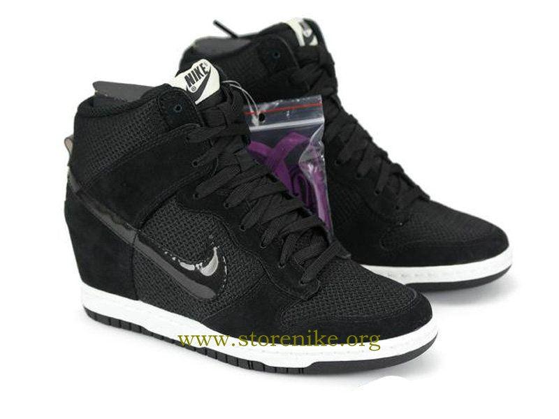 meet a46f0 a73d1 ... spain nike dunk sky hi chaussures pas cher pour femme noir 644877 001  e5df9 1f1ad