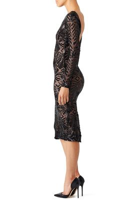 1ce15ccb2270 Black Emery Dress by Dress The Population