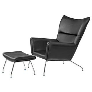Check Out The Fine Mod Imports Fmi9233 Wing Leather Chair With