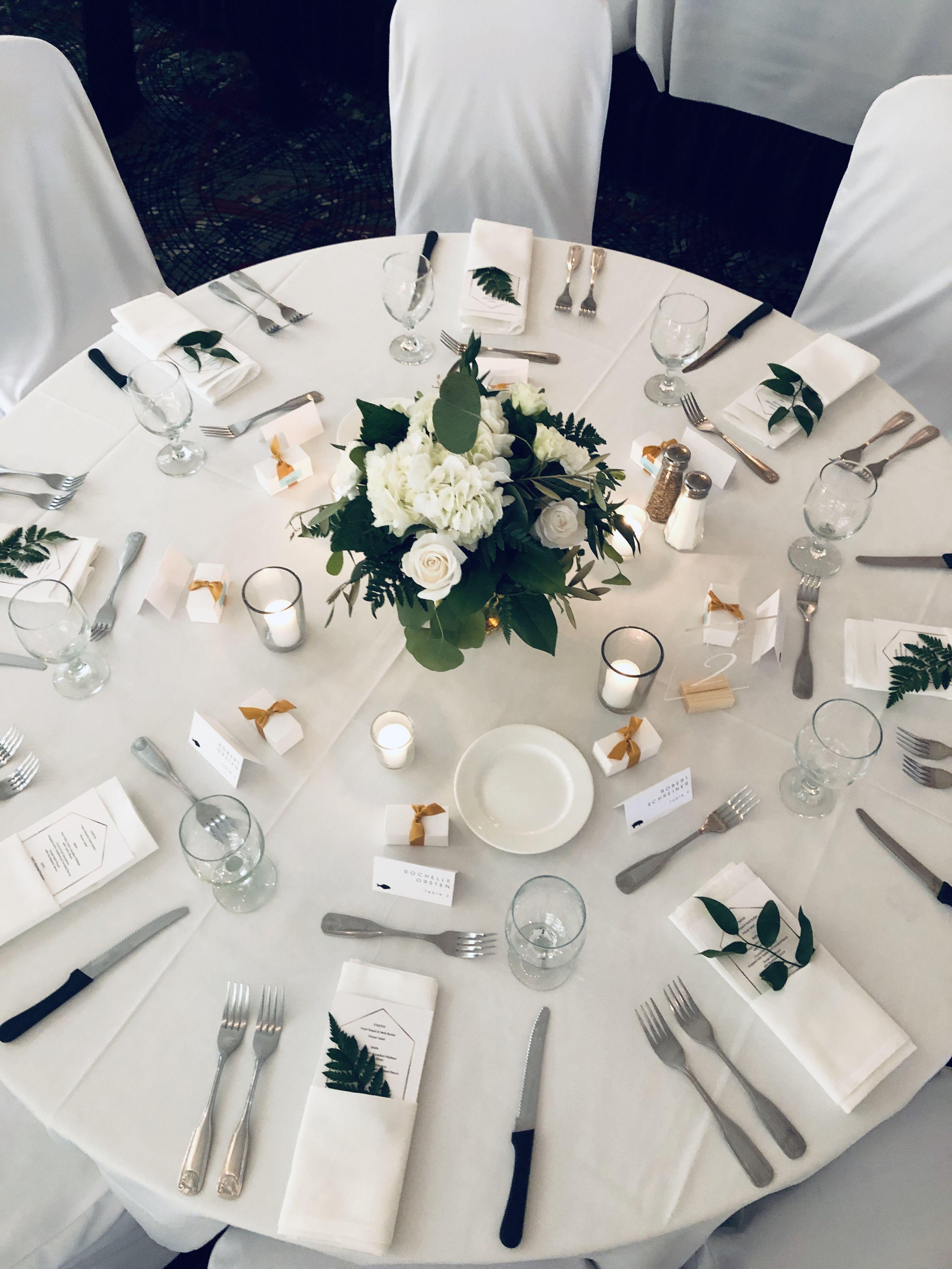 47++ Wedding napkin fold with menu information