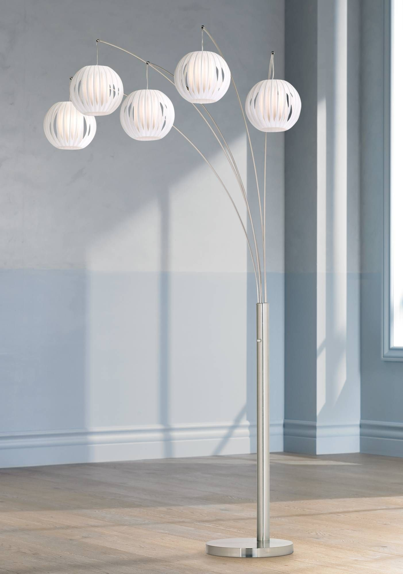 Lite source deion light hanging arc floor lamp arc floor lamps