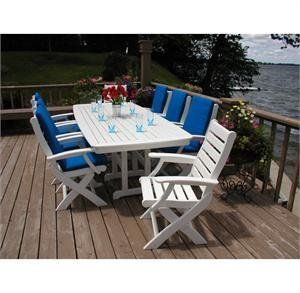 22++ Outdoor furniture polywood dining table set Trend