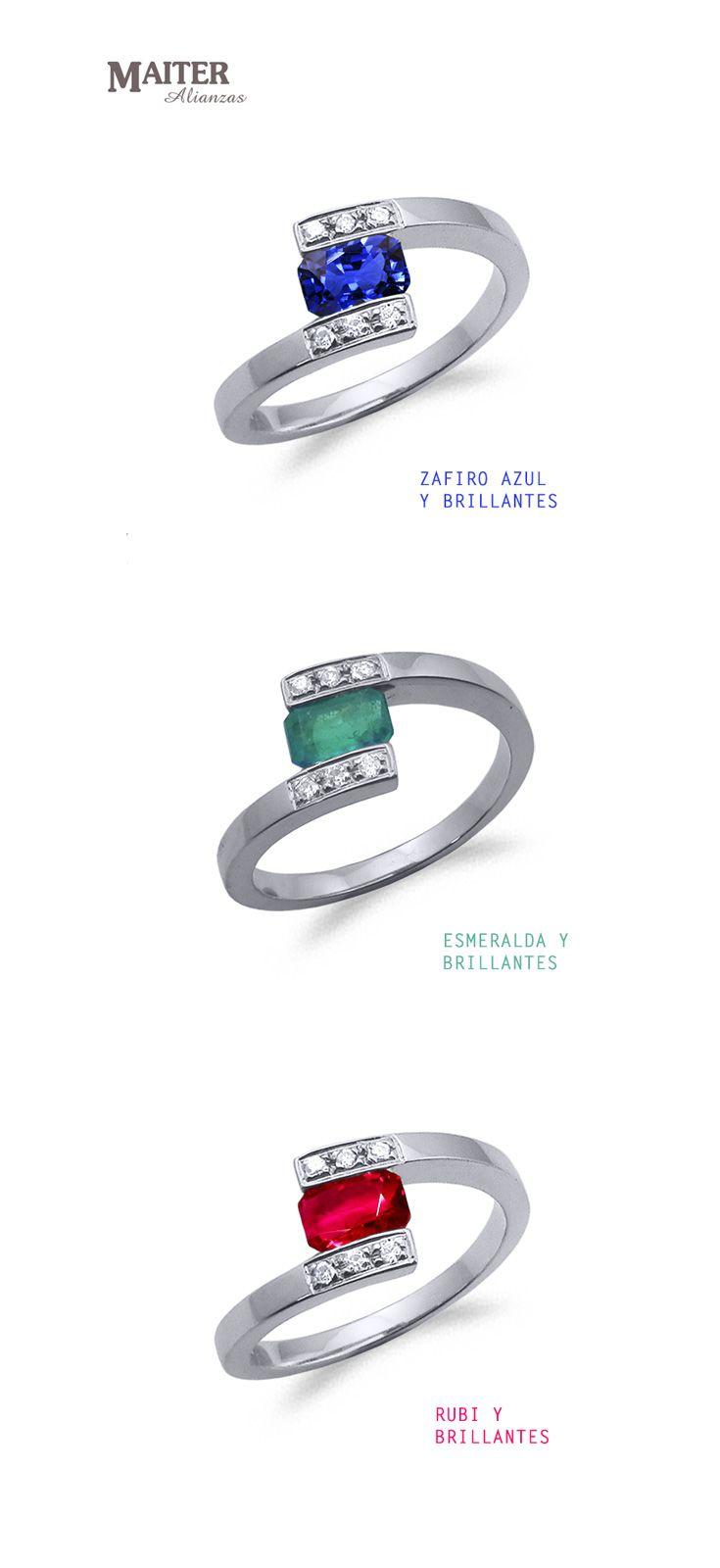 554627e0bfbe  anillos  compromiso  rubi  esmeralda  zafiro con brillantes  www.joyasmaiter.com
