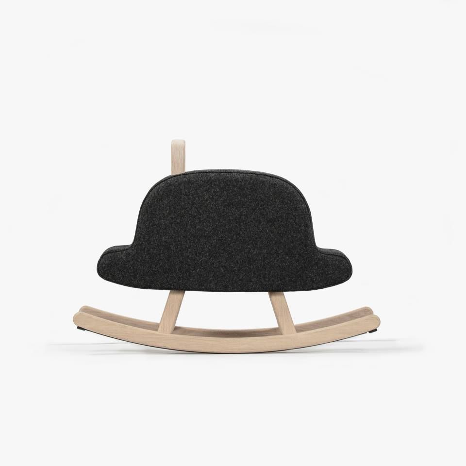 NEW  The new generation of rocking horses  Iconic Rockers. Meet the Iconic  Bowler Hat 723bef2ba0a2