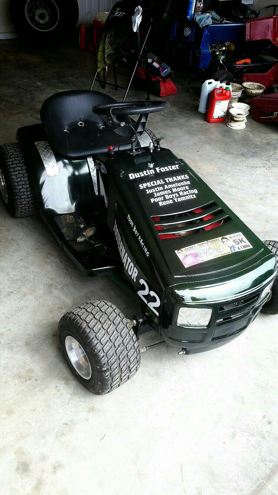 And Again Everything Lawnmower Racing Tractor Mower