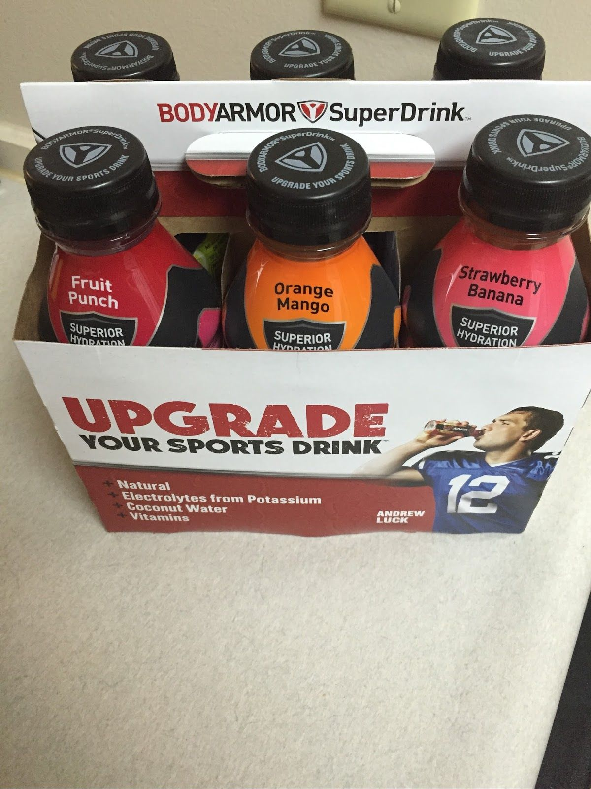 Just the Two of Us and Deals Rethink Your Sports Drink