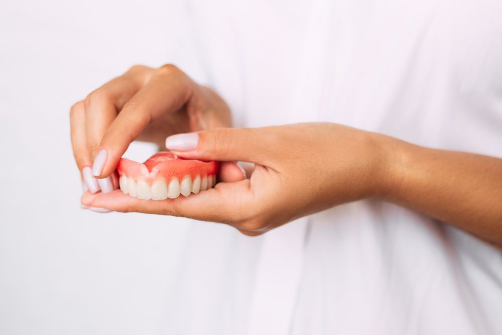 What You Need to Know Before Getting Dentures. A Full Denture replaces the entire arch of teeth. #dentalfacts