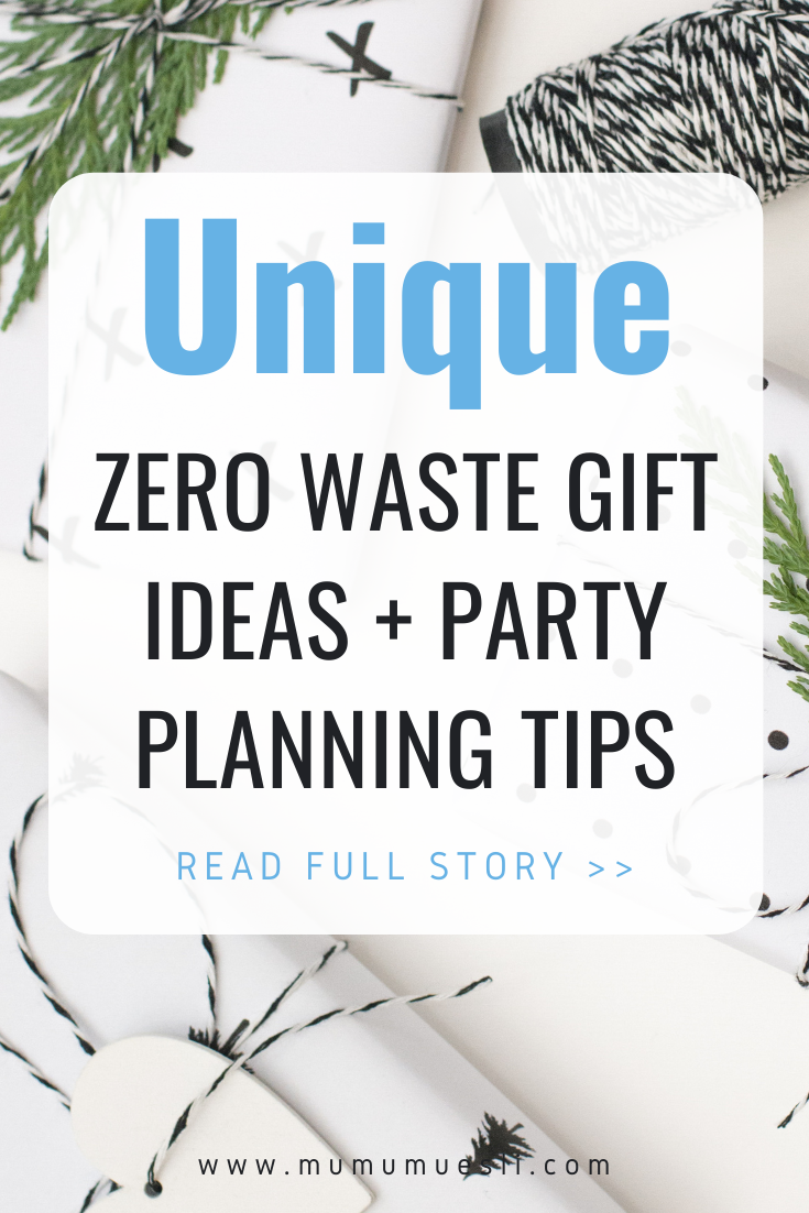 Unique Zero Waste Gifts | Inexpensive & Eco-Friendly Christmas Gifts + Party Planning Tips