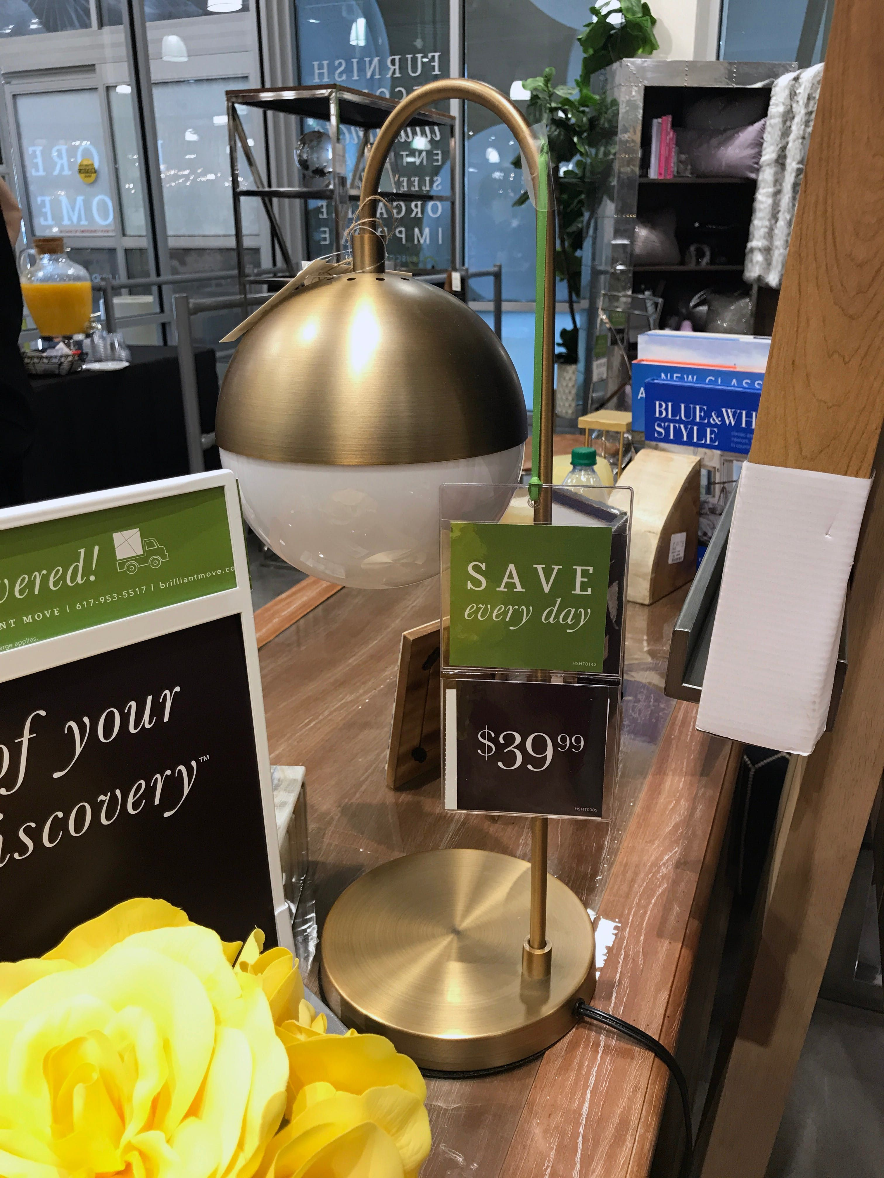 A tour of the first homesense store in the us desk lamp a tour of the first homesense store in the us desk lamp homesense and desks geotapseo Choice Image
