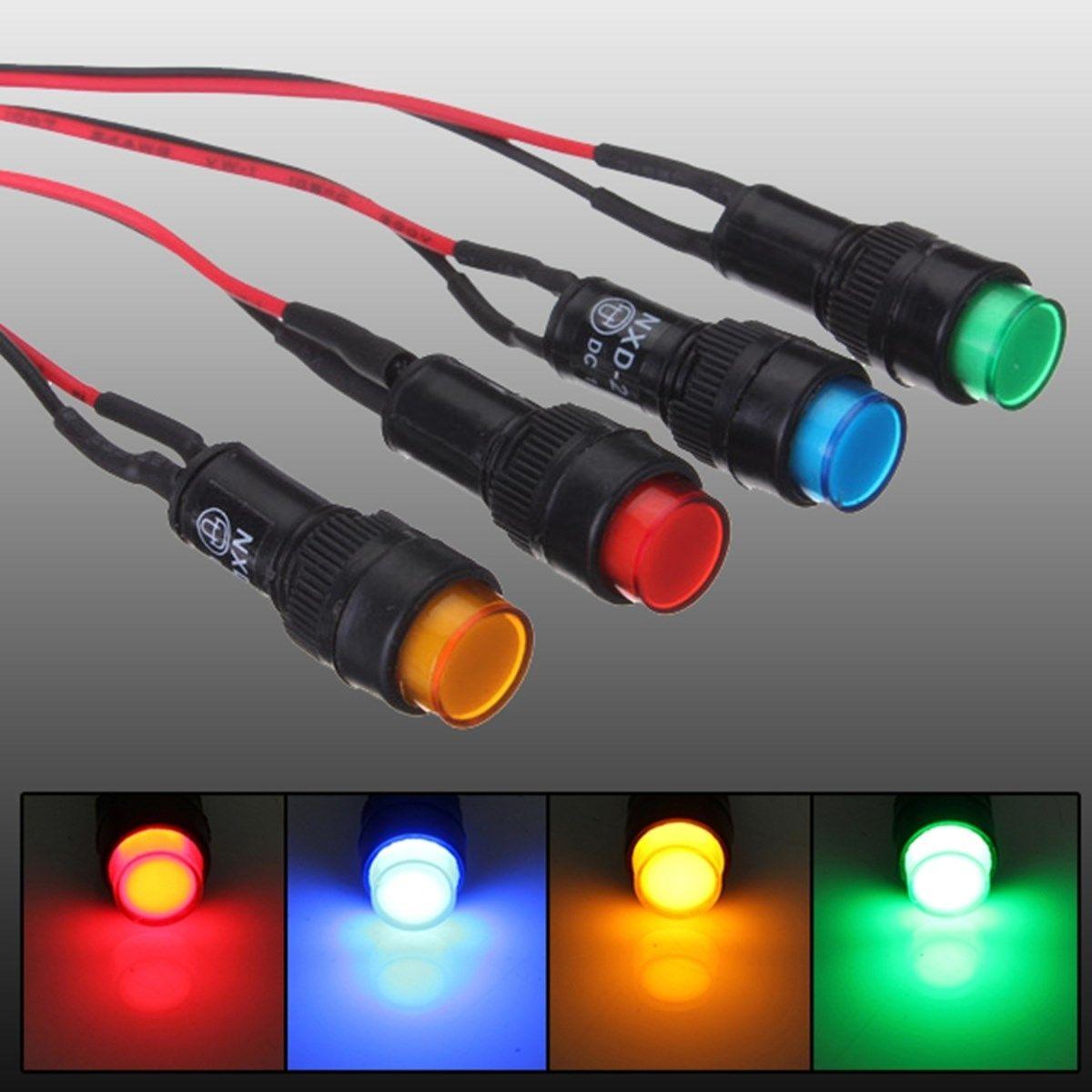 Control Panel Led Indicator Lights