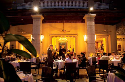 The Grand Cayman Ritz Carlton Offers A Range Of Great Restaurants