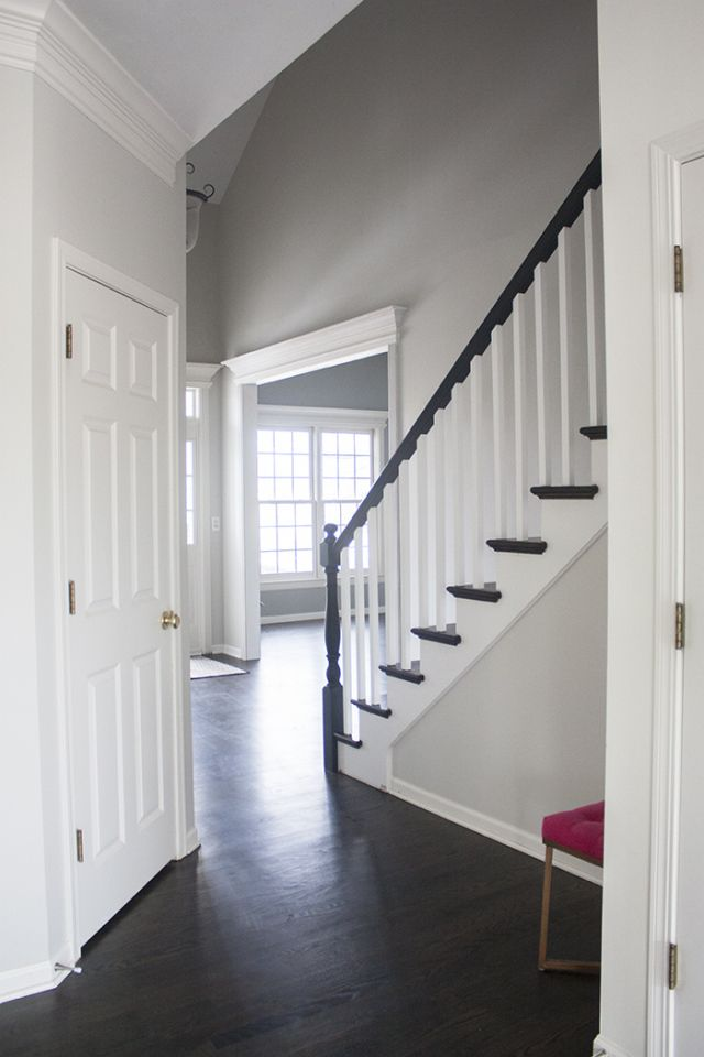 Best Bm Gray Owl Benjamin Moore Grey Owl Home Foyer Paint 400 x 300