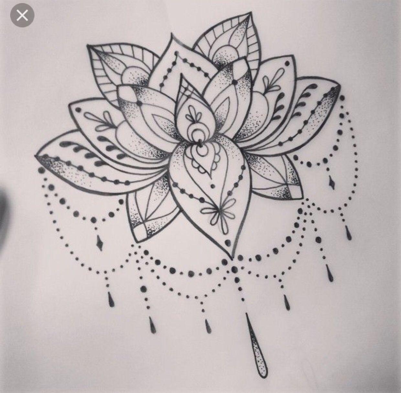 Tatuajes De Mandala Lotus Blossom Tattoos Tattoos Lotus Tattoo Design