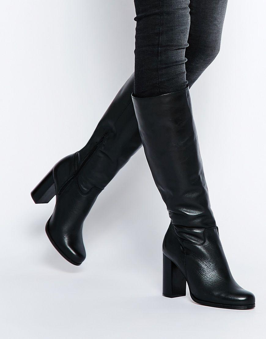Buy Women Shoes / New Look Premium Block Heeled Knee High Boot