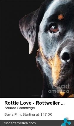 Am I A B A D A S S Dog Art Dog Paintings Rottweiler