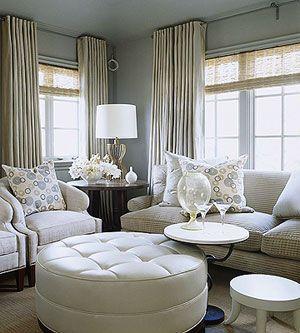 Ideas for Multiple Windows. Ceiling CurtainsPainted CurtainsDecorating  BathroomsWindow ...