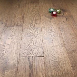 Abbey Cookham Smoke Stained Oak 15mm Brushed Matt Lacquered Click Engineered Flooring