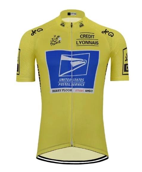 Usps Yellow Cycling Jersey Cycling Jersey Jersey Cycling